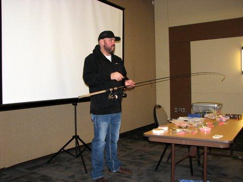 Matt Halseth was our guest speaker.