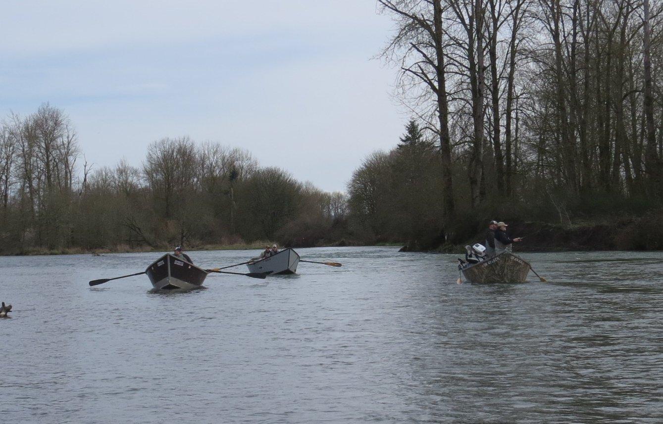 Steelheaders floating