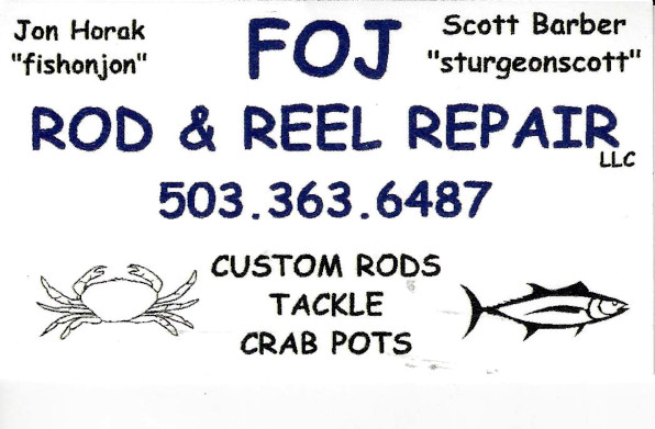 FOJ Rod & Reel Repair, Salem, OR